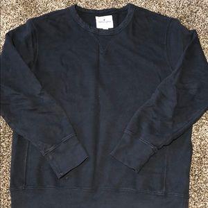 Vintage American Eagle Sweatshirt Men Balck